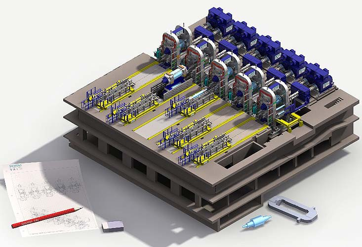 Mechanical Engineering And Hydraulic Smap3d